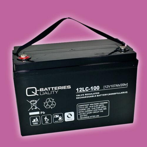 Q-Batteries Blei AGM Akku Elektro Außenbordmotor Motorguide VariMax V55 HT/SW Motoren & Motorenteile