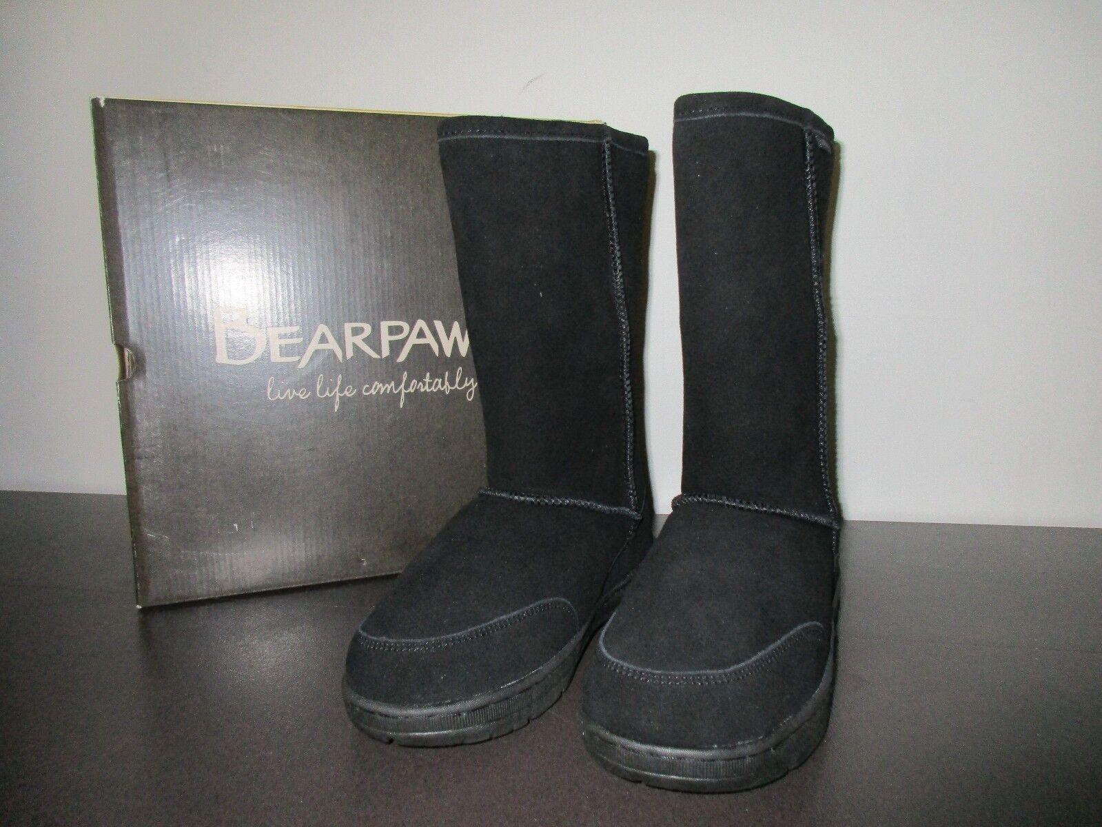 BEARPAW Meadow Wool & Genuine Sheepskin Wool Lined démarrage Mid Calf Taille 7
