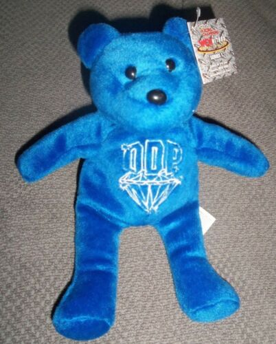 Vintage WCW NWO D.D.P Diamond Dallas Page Beanie Bear New with tags Rare