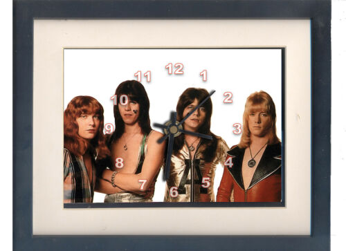The Sweet, or Sweet. Celebrity framed print and . Music memorabilia.
