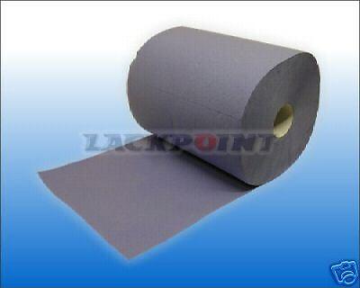 Autolack Klarlack 500BL 38x38 f GP=0,04€//Blatt 1 Rolle Putzpapier BLAU 3 Lag