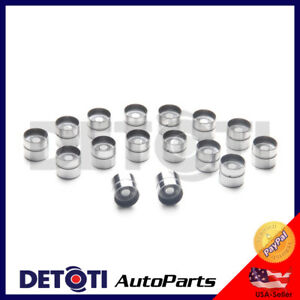 16-Valves Hydraulic Lifters for 97-11 Hyundai Accent Kia Rio 1.5L 1.6L G4FK G4ED
