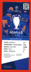 Ticket Cl Finale 2021
