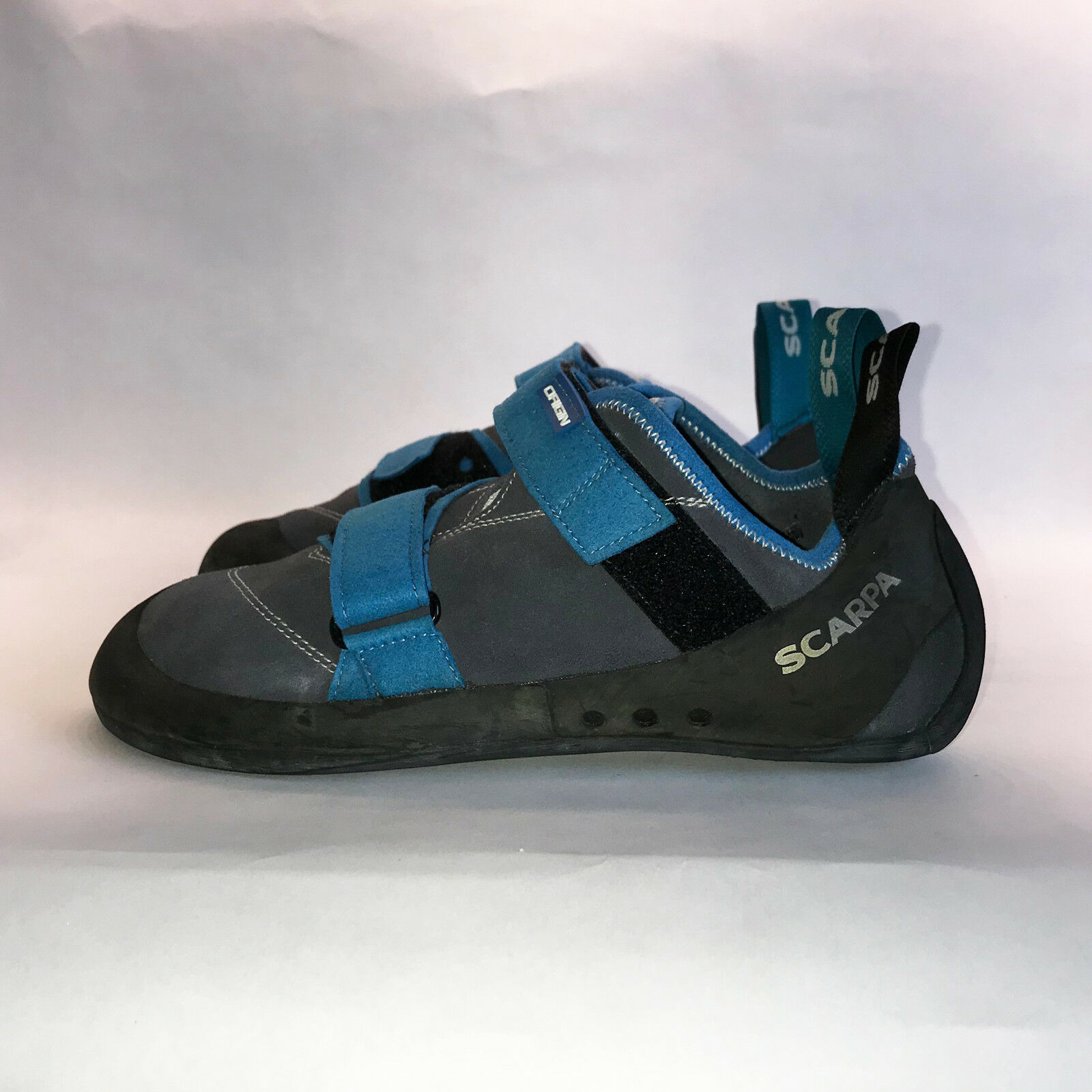 Scarpa Mens Origins Climbing Shoes Iron Grey US Size 10 Item 897408