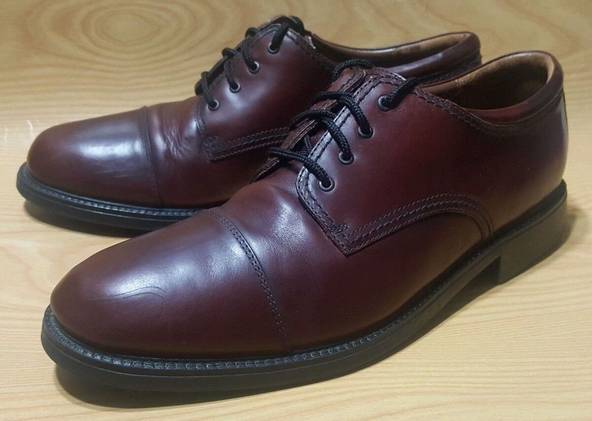 Dockers Cap Toe Oxfords Size 13 M Brown Leather shoes