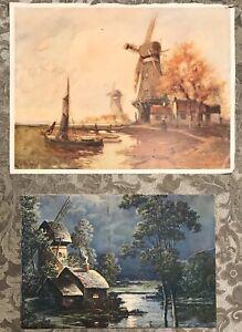 Vintage-Windmill-Prints-2-F-Von-Vreeland12-1-2-X-9-1-2