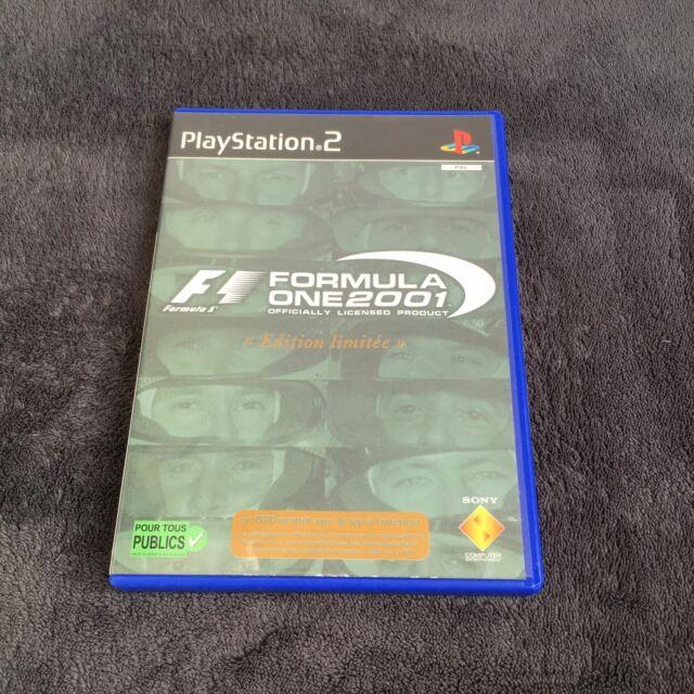 PS2 Formula One 2001 FRA CD état Neuf Playstation 2
