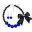 Fashion-Jewelry-Crystal-Choker-Chunky-Statement-Bib-Pendant-Women-Necklace-Chain miniature 86