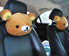 NEW 1pc San-X Rilakkuma Auto Car Seat Head Rest Cushion Pillow Neck Pillow ~gift