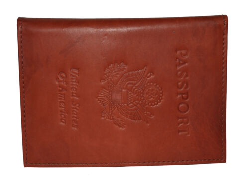 Travel Leather Passport Organizer Holder Card Case Protector Cover Wallet