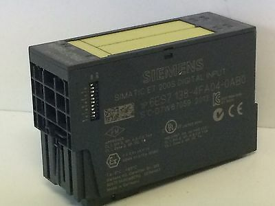 Siemens 6ES7 138-4FA04-0AB0 Simatic ET 200S Digial Input w// Base