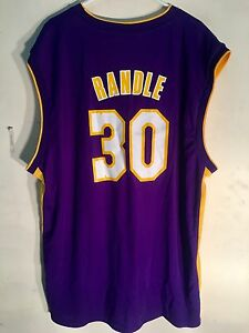 watch 5a4d8 41042 Details about Adidas NBA Jersey Los Angeles Lakers Julius Randle Purple sz  2X