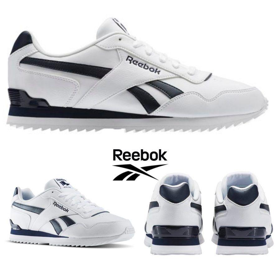 Reebok Classic Royal Glide Ripple Clip Shoes  White BD5321 SZ 4-12.5