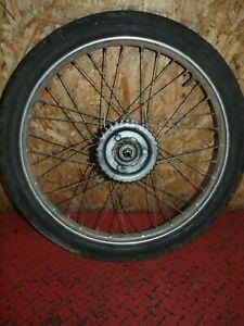 Hinterrad Felge Rad hinten rear wheel DKW Hummel 113