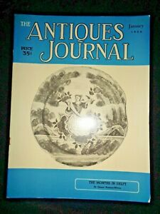Antiques-Journal-1956-Delft-Silhouettes-Japanese-Ceramics-Pewter-Dolls-Portraits