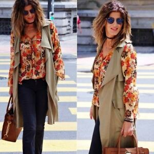 Hippie Blouse Size Flowing Zara S Printed Boho Beautiful H4T1Oq