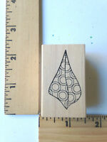 Rare - Outlines Rubber Stamps - Shells -