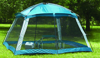 Screened Tent House Instant Pop Up Gazebo Outdoor Screenhouse Popup Camping