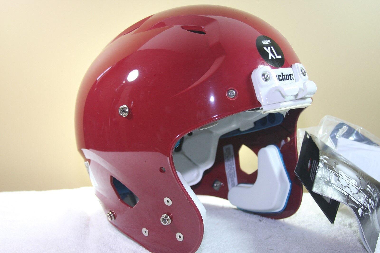 Schutt YOUTH Football Helmet VENGEANCE Cardinal New 2017 X-Large XL 189