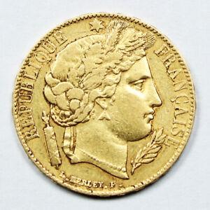 Piece-20-Francs-Or-Ceres-1851-A-IIeme-Republique-Gold-Coin-France