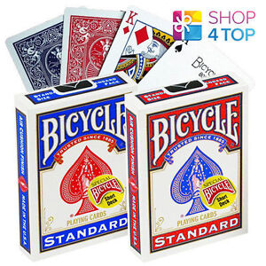 BICYCLE-MAGIC-SHORT-1-16-034-PLAYING-CARDS-DECK-TRICKS-RED-BLUE-USPCC-NEW