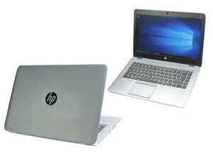 HP EliteBook 745 G2 Laptop AMD A8 Quad Core 4GB Ram 128GB SSD Warranty Webcam