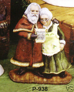 Ceramic-Bisque-Santa-Singing-Clauses-Provincial-Mold-938-U-Paint-Ready-To-Paint