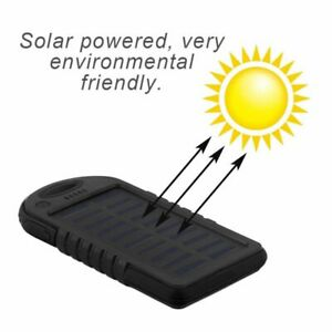 Cargador Solar Externo Portatil Power Bank con Doble USB  ...