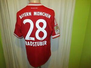 FC-Bayern-Muenchen-Adidas-Heim-Trikot-2013-14-034-T-034-Nr-28-Badstuber-Gr-M-TOP
