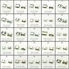 KIT 25 X CONECTOR MICRO USB 5 PIN HEMBRA, MICROUSB CONECTOR KIT VARIOS FORMATOS