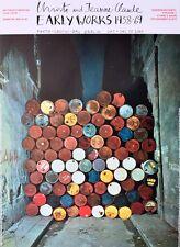 Christo Rue Visconti, Paris Plakat, Berlin Poster Bild Kunstdruck 84x59cm