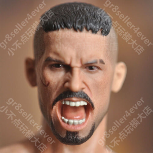 1//6 scale Head Sculpt Undisputed 3 Redemption Scott Adkins as Uri Boyka