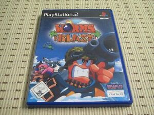 Worms-Blast-Per-PLAYSTATION-2-ps2-PS-2-OVP