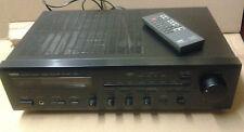 AMPLIFICATORE con telecomando YAMAHA rx-450 amplifier with remote control