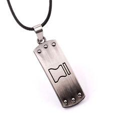 Anime Naruto Shippuden Metal Choker Pendant Necklace Cosplay Jewelry Gift
