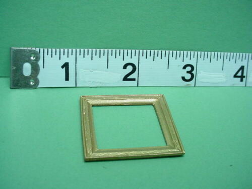 Dollhouse Miniature Picture Frame #39 Painted Metal 1//12 Scale