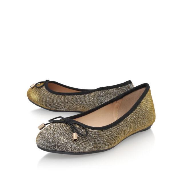 Luxury CARVELA KURT GEIGER Olivia POMPOM Boxed Slippers Blush Brown Size 3-4