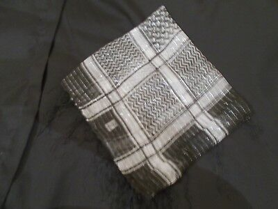 Scarf~A~uk seller Arab Indian Fine Cotton style PLO Glitter