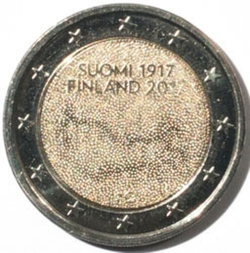 #3313 Finland 2 euro 2017 Independence UNC