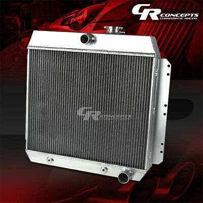 49-54 CHEVY STYLE//FLEETLINE//BEL AIR V8 3-ROW//CORE FULL ALUMINUM RACING RADIATOR