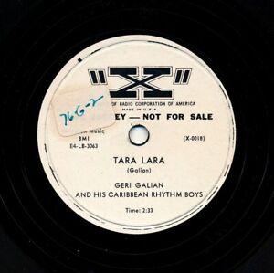 GERI-GALIAN-and-his-Caribbean-Rhythm-Boys-on-1954-034-X-034-0018-Promo-Tara-Lara