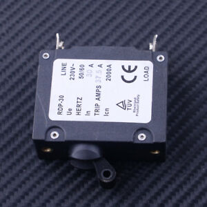 Circuit Breaker BSB1-30 230V 2000A 30A Trip Amps HERTZ 50//60 Für Generator