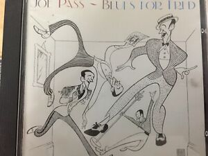 JOE-PASS-Blues-For-Fred-CD-1988-Pablo-AS-NEW