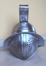 Movie 'Gladiator' steel helmet - thickness 18 gauge - Hollywood movie auction