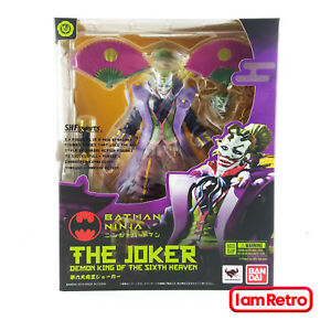 Joker Ninja Batman Figure Dc Tamashii Nations Sh Figuarts Bandai USA Vendeur 4549660259190