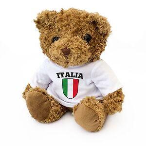 NEW-Italy-Flag-Teddy-Bear-Italian-Italia-Fan-Gift-Present-Birthday-Xmas