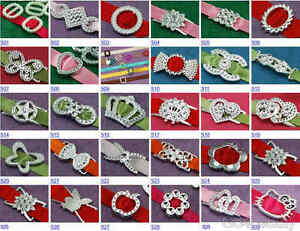 Selections-of-Acrylic-Ribbon-Buckle-Sliders-Party-Invitations-Cards-Making