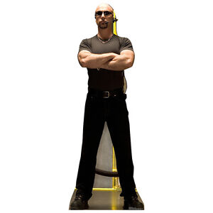club bouncer mean nightclub doorman cardboard cutout standee standup