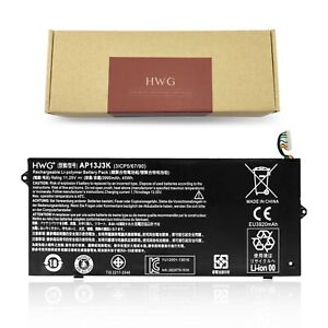 "HWG AP13J3K AP13J4K Battery for Acer Chromebook 11.6"" C720 C740 C720-2848 14"