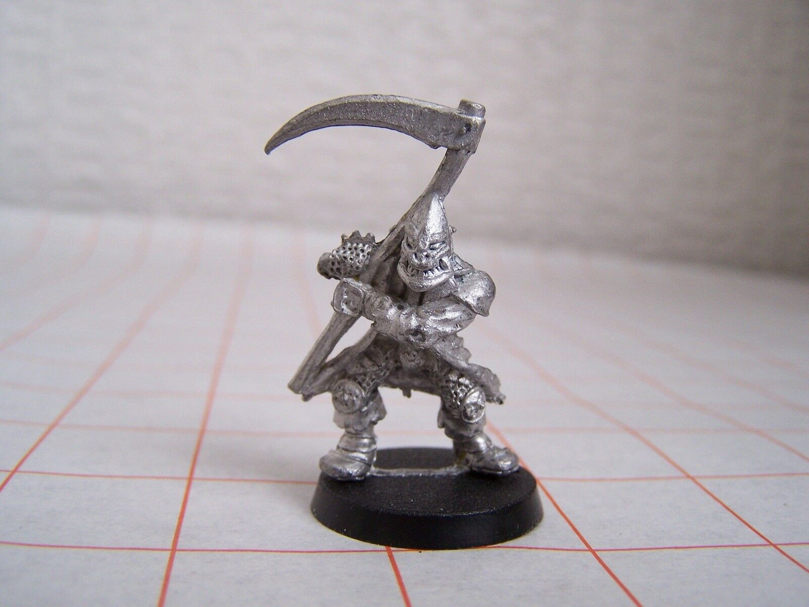 Warhammer Realm of Chaos Thug with Scythe  Chaos Cultist (OOP, 1986, Citadel)
